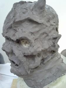 Rough sculpt (right)