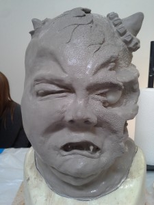 Final sculpt (front)