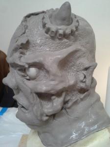 Final sculpt (right)