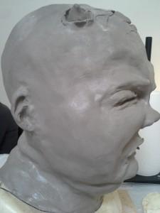 Final sculpt (left)