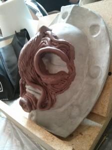 Pre-sculpt - side