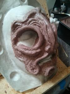 Mid-sculpt - side