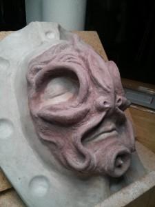 Final-sculpt - 3/4 left