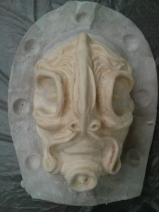 Mask pull - front
